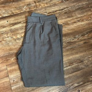 Forever 21 Cropped Trousers in Charcoal